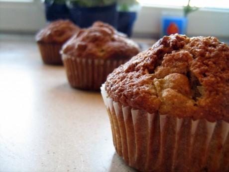 muffiny pomarańczowo rabarbarowe 1