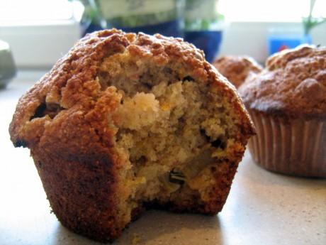 muffiny pomarańczowo rabarbarowe 2