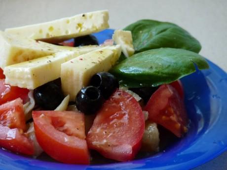 salatka z dorsza