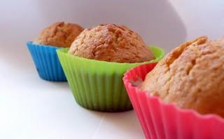 Muffiny z marmoladą pachnące wanilią