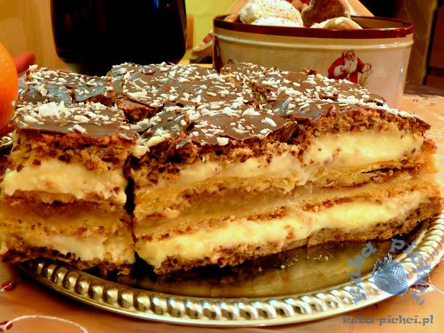 Ciasto Jabłkowo Orzechowe z