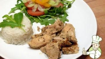 Kurczak w trzech musztardach (dieta Dukana)