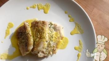 Ryba w sosie pomarańczowym