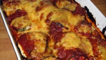 Bakłażan a'la pizza