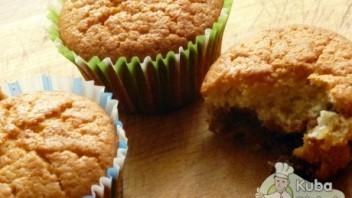 Muffiny z masą krówkową
