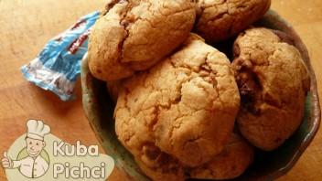 Ciastka z michałkami kokosowymi