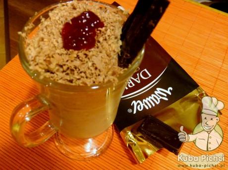 deser smietanowo czekoladowy