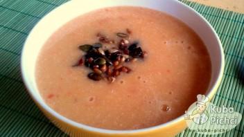 Zupa ziemniaczana ze słonecznikiem