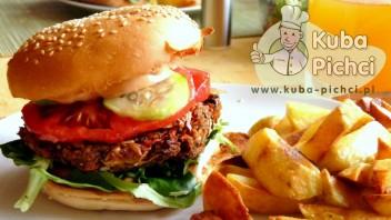 Wegańskie burgery z kaszy jaglanej
