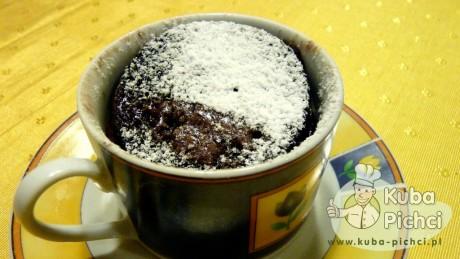 ciasto czekoladowo porterowe z mikrofali