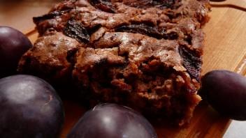 Ciasto śliwkowe z czekoladą
