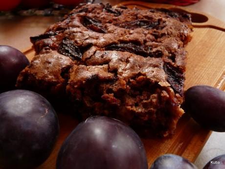 ciasto sliwkowe z czekolada 01