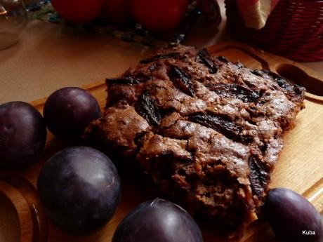 ciasto sliwkowe z czekolada 02