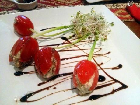 Pomidory marynowane z serem