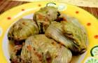 Gołąbki wegańskie z kaszą gryczaną