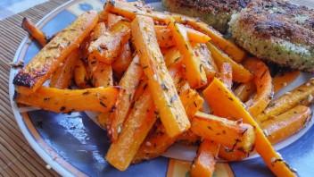Frytki marchewkowe