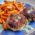Kotlety brokułowo-ziemniaczane