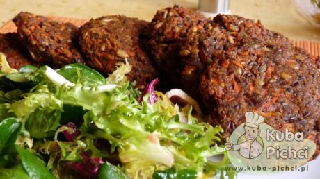 kotlety wegetarianskie z kaszy jaglanej